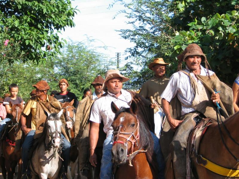 Gravação do documentário O Sonho de Manoel Messias, de Rafael Pereira, de Colônia do Gurguéia, no Piauí.