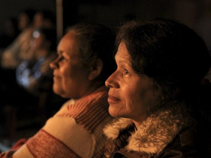 Exibição do documentário O Porquê das Coisas, de Carmen Silvia Ferreira, de Guaramiranga, Ceará.