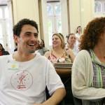 Selecionados se integram durante curso Foto: Apoena Medeiros