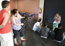 Ambiente das Oficinas Audiovisuais - Revelando os Brasis Ano V. Foto: Ratão Diniz.