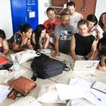 Oficina de Direção de Arte, com Ana Paula Cardoso - Oficinas Audiovisuais Revelando os Brasis Ano V. Foto: Ratão Diniz