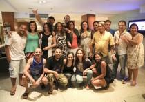 Preparativos finais - penúltimo dia de oficinas -  Revelando os Brasis Ano V. Foto: Ratão Diniz