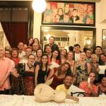 Jantar de encerramento e entrega dos certificados - Oficinas Audiovisuais Revelando os Brasis Ano V. Foto: Ratão Diniz