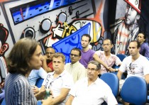 Revelando os Brasis Ano V, no Centro Cultural da UERJ, Rio de Janeiro. Foto: Ratão Diniz
